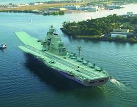 Cận cảnh tàu sân bay của hải quân Ấn Độ
