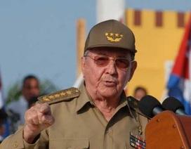 Chủ tịch Raul Castro: Cuba sẵn sàng ngồi lại với Mỹ