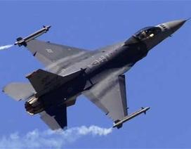 Mỹ ngừng bay phi đội F-16 sau vụ tai nạn ngoài khơi Nhật Bản
