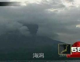 """Núi lửa """"thức giấc"""" ở miền nam Nhật Bản"""