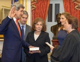 John Kerry nhậm chức ngoại trưởng Mỹ