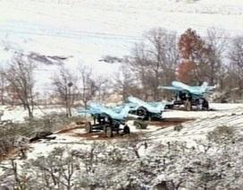Kim Jong-un thị sát tập trận bằng máy bay không người lái