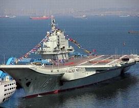 Hé lộ về lực lượng không chiến cho tàu sân bay Trung Quốc