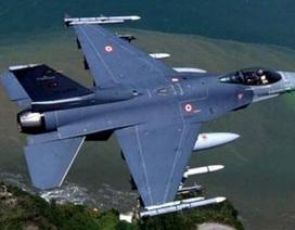 Chiến đấu cơ F-16 của Thổ Nhĩ Kỳ rơi gần biên giới Syria