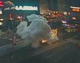 Công bố video mới vụ đánh bom Quảng trường Thời đại năm 2008