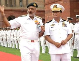 Ấn Độ giúp Myanmar chế tạo tàu tuần tra