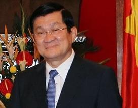 Chủ tịch nước Trương Tấn Sang thăm chính thức Hoa Kỳ