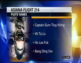 """Hàng không Hàn Quốc dọa kiện truyền hình Mỹ vì phi công """"ma"""""""