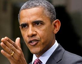 Obama cảnh báo Trung Quốc chớ dùng vũ lực trên biển