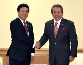 Bộ trưởng Ngoại giao Việt Nam tiếp xúc song phương bên lề AMM 46