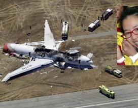 Tai nạn máy bay Asiana: Thiếu nữ Trung Quốc chết vì xe cứu hỏa
