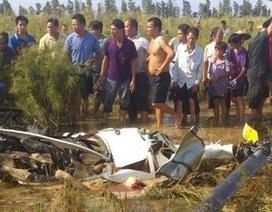 Rơi trực thăng tại Trung Quốc, 2 người chết