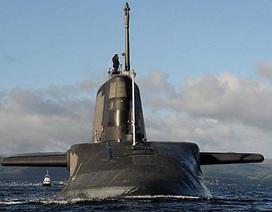 Hải quân Anh nhận tàu ngầm tấn công uy lực nhất thế giới
