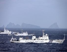 Trung Quốc điều đội tàu hùng hậu ra quần đảo tranh chấp với Nhật