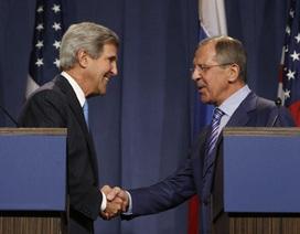 Nga, Mỹ bàn về giải giáp vũ khí hóa học của Syria