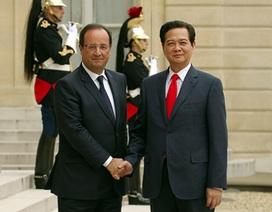 Thủ tướng Nguyễn Tấn Dũng hội kiến lãnh đạo Pháp