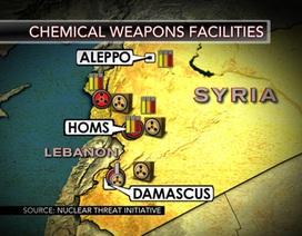 Syria có thể mất 1 tỷ USD để phá hủy vũ khí hóa học