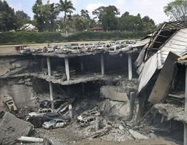 Trung tâm thương mại Westgate bị sập 3 tầng sau vụ khủng bố