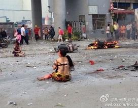 Trung Quốc: Con không được nhập học, bố đánh bom khủng bố