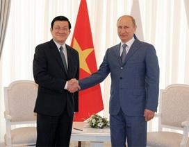 Quan hệ Việt Nam-Nga đang phát triển hết sức tốt đẹp