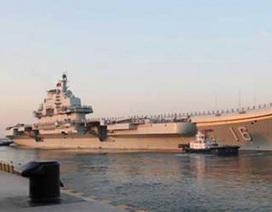 Trung Quốc đưa tàu sân bay Liêu Ninh tới Biển Đông diễn tập