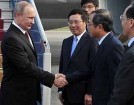 Báo chí Nga đưa tin về chuyến thăm Việt Nam của Tổng thống Putin