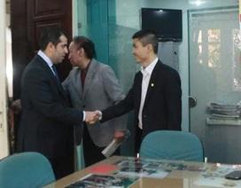 Đại sứ Azerbaijan thăm báo Dân Trí: Để truyền thông làm cầu nối Hà Nội-Baku