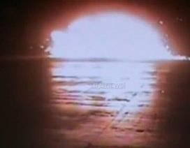 Quay được cảnh máy bay Nga nổ như bom