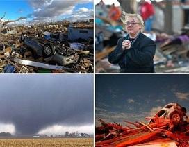 Lốc xoáy tấn công hàng loạt thành phố của Mỹ