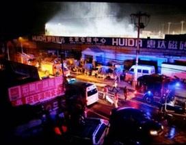 Cháy nhà kho ở Bắc Kinh, 11 người thiệt mạng