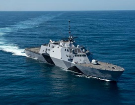 Chiến hạm tàng hình Mỹ tuần tra Biển Đông