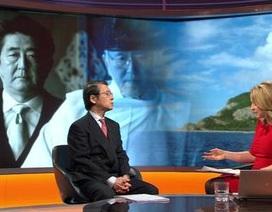 """Quan chức Trung-Nhật """"đấu khẩu"""" trên sóng BBC"""