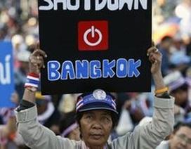 """Phe biểu tình Thái Lan bắt đầu chiến dịch """"Đóng cửa Bangkok"""""""