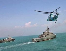 Iran điều tàu chiến đến sát hải phận Mỹ
