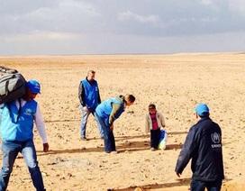 Cảm động câu chuyện bé 4 tuổi lang thang trên sa mạc tìm mẹ