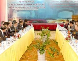 """Việt Nam, Lào thúc đẩy mô hình kiểm tra """"một cửa"""""""