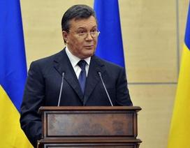 Ông Yanukovych họp báo sau tin đồn đột tử, cảnh báo nội chiến