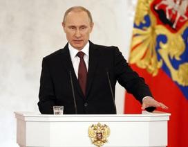 """Putin: """"Crimea mãi là một phần không thể tách rời của Nga"""""""
