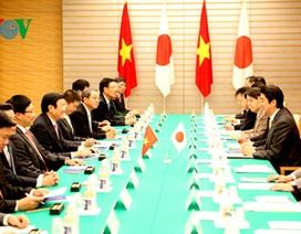 Chủ tịch nước hội đàm với Thủ tướng Nhật Bản