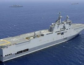 Pháp sẽ bị phạt nặng nếu hủy bán tàu chiến cho Nga