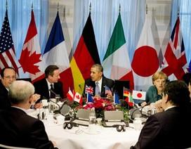 Phương Tây chính thức loại Nga khỏi G8