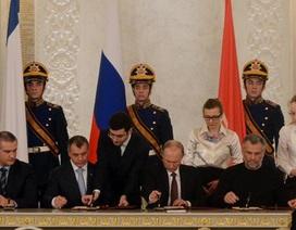 Putin phê chuẩn hiệp ước tái hợp nhất Crimea với Nga
