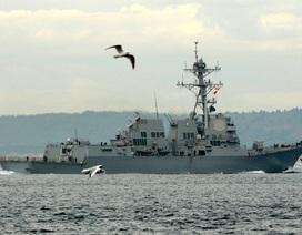 Tàu khu trục Mỹ gia tăng tập trận ở Biển Đen