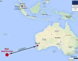 Úc phát hiện các vật thể nghi của máy bay Malaysia