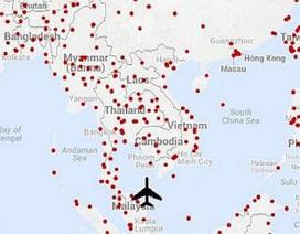 MH370 có hơn 600 đường băng để có thể hạ cánh