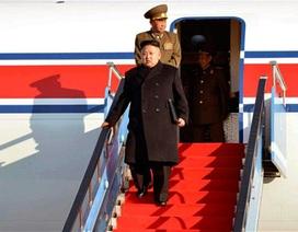 Triều Tiên lần đầu công bố ảnh ông Kim Jong-un đi máy bay