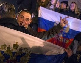 Crimea công bố kết quả cuối cùng cuộc trưng cầu dân ý