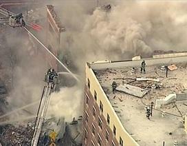 Mỹ: Nổ lớn gây sập chung cư 5 tầng ở New York, 3 người chết