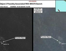 Úc công bố ảnh vệ tinh các mảnh vỡ nghi của máy bay Malaysia