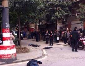 Tấn công bằng dao giữa phố tại Trung Quốc, 6 người chết